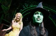 Amanda Harrison as Elphaba from Wicked