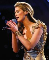 Delta Goodrem singing 2013