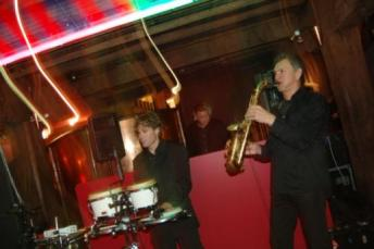 Mixa - DJ, Sax and Percussion at the Sydney Film Festival