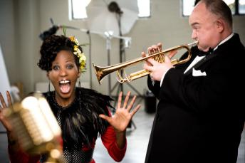 Deni Hines with James Morrison